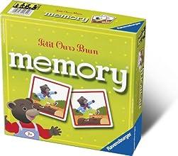 Ravensburger - 21844 - Jeu éducatif premier âge - Grand Memory Petit Ours Brun