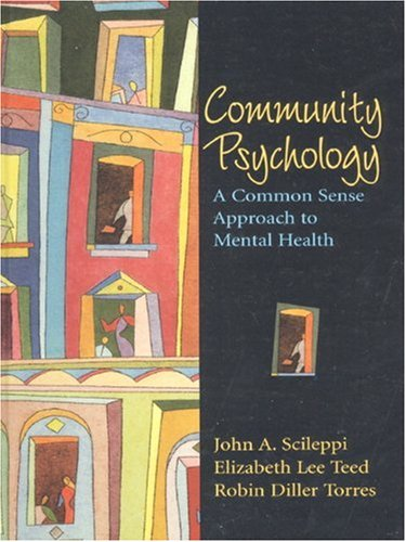 Community Psychology: A Common Sense Approach to Mental...