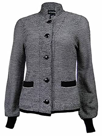 Sutton Studio Women's Tipped Shell & Cardigan Twinset (PM) [Apparel] [Apparel]