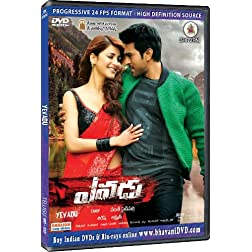 YEVADU DVD (Telugu Movie DVD - USA Version from Bhavani)