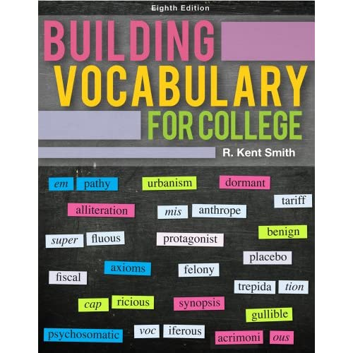 Building Vocabulary for College, 8 edition