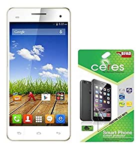 Ceres AquaShieldz Ultra Clear Screen Guard Protector For Micromax A190 Canvas HD Plus (Pack Of 2)