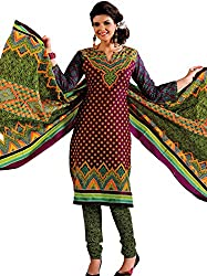 Unstitched Salwar Suit from GreatIndiaFashion (Free Shipping)