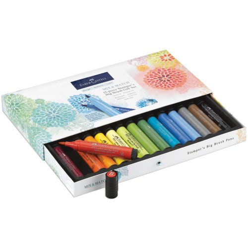 Faber-Castell Mix & Match Stamper's Big Brush Pen Set 15/Pk Gift Set (Faber Castell Big Brush compare prices)