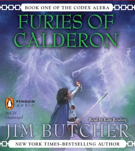 """Furies of Calderon (Codex Alera)"" av Jim Butcher"
