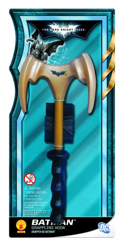 Batman: The Dark Knight Rises: Bat Grappling Hook Toy (Gold)