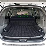 HUAXINXIN SUV Air Mattress Camping Bed,Outdoor SUV Dedicated Mobile Cushion Extended Travel Mattress Air Bed Inflatable for SUV Back Seat,Swimming Sea Beach,Holiday,Fit 95% SUV black ¡­ (Color: Black)