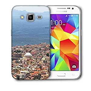 Snoogg City And The Sea Printed Protective Phone Back Case Cover For Samsung Galaxy CORE PRIME