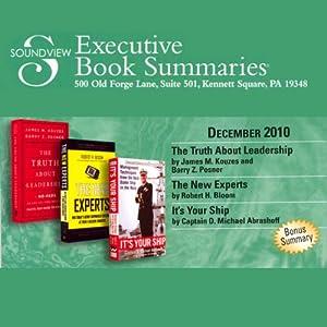 Soundview Executive Book Summaries, December, 2010 | [James M. Kouzes, Barry Z. Posner, Robert H. Bloom, D. Michael Abrashoff]