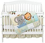 Baby Einstein Jungle Discovery 4 Piece Crib Set