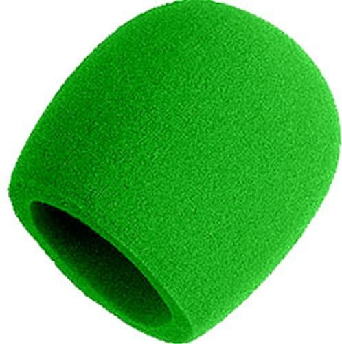 Shure A58Ws-Grn Foam Windscreen For All Shure Ball Type Microphones, Green Color: Green Portable Consumer Electronics Home Gadget