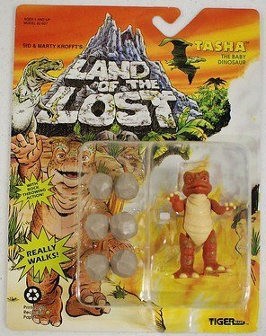 Land of the Lost Tasha the Baby Dinosaur Action Figure - 1