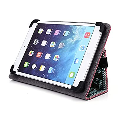Kroo® Samsung Galaxy Tab S2 9.7 inch Tablet Cases | Mint & Grey Tribal Canvas Case with Kickstand from Kroo