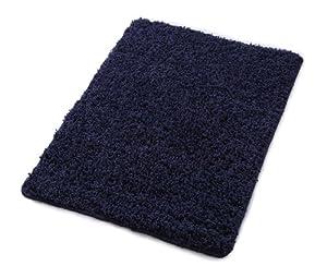 Carpemodo Trendy Badteppich/Badematte, Farbe: Dunkelblau, Maße: 60 x 100 cm, Basic Badematte in trendigem Look