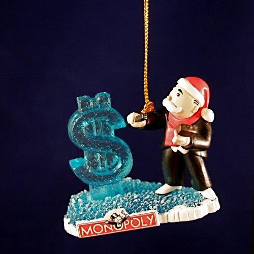 Terrible Christmas Decorations: Monopoly Christmas Ornaments
