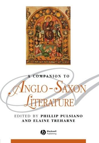 Companion to Anglo-Saxon Literature (Blackwell Companions to Literature and Culture)