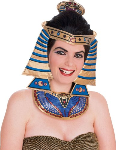 Cleopatra Costume Headpiece and Necklace - Adult Std.