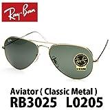 RB3025 L0205 RayBan/レイバンサングラス アビエーター