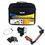 Sea & Sea YS-01 Strobe Lighting Package With Sea Arm VII Compact & Soft Bag