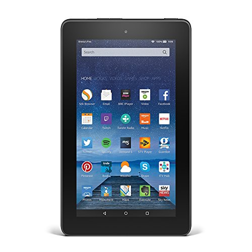 Fire Tablet, 7″ Display, Wi-Fi