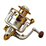 Contever® Professional New 10BB Ball Bearing Saltwater/ Freshwater Sea Fishing Spinning Reel 5.5:1 Hot Sale-EF7000