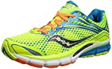 Saucony Men's Triumph 11 Running Shoes - Yellow/Blue/Orange/White, Size 9