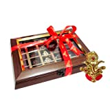 Chocholik Belgium Chocolate Gifts - Attractive Chocolate Collection With Ganesha Idol - Diwali Gifts