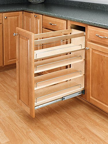 Rev-A-Shelf - 448-BC-5C - 5 in. Pull-Out Wood Base Cabinet Organizer (Base Cabinet Pull Out compare prices)