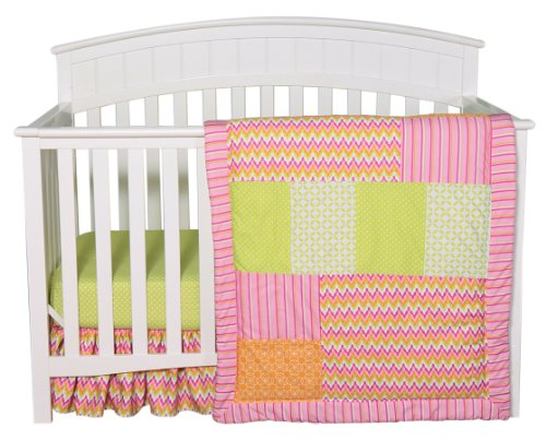 Trend Lab 3 Piece Crib Bedding Set, Savannah