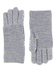 M&S Collection Knitted Turn Up Gloves