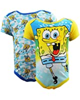 Nickelodeon Baby Boys Spongebob 2 piece Onesie Set
