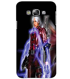 SAMSUNG GALAXY GRAND 3 WARRIOR Back Cover by PRINTSWAG