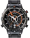 Timex Men's T49709 E-InstrumentsTM Black Case and Black IP Bracelet E-Tied-Temp-Compass Expedition Watch
