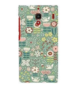 EPICCASE feast flowers Mobile Back Case Cover For Xiaomi RedMi 1S (Designer Case)