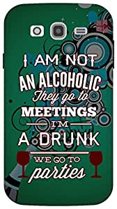 The Racoon Lean Drunks and Alcoholics hard plastic printed back case/cover for Samsung Galaxy Grand Neo