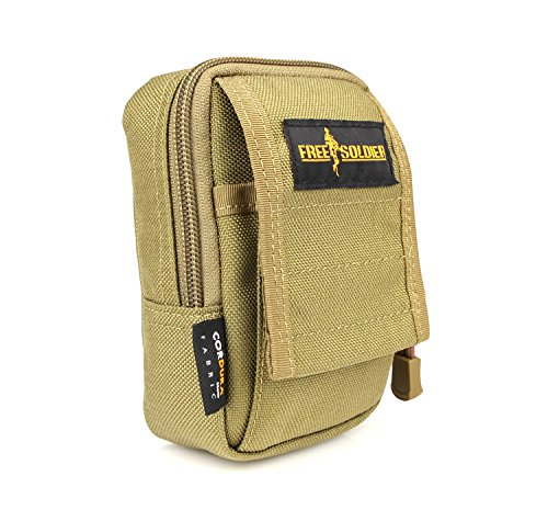 Soldier Men Women Waist Pack Small Pouch Bag(Saco) Handbag Material:Cordura YKK Color:Black/Brown/ACU Size:14*7*10.5CM (Quiksilver Waist Pack compare prices)