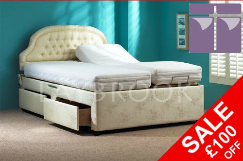 Thornbury Adjustable Divan Bed (Dual)