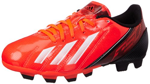 detailed look a4381 fc497 adidas F5 Trx Fg J, Chaussures de football garçon – Rouge  (Infrared White Black), 38 EU