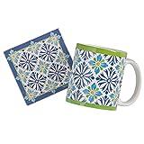 Mediterranean Mug and Coaster Set
