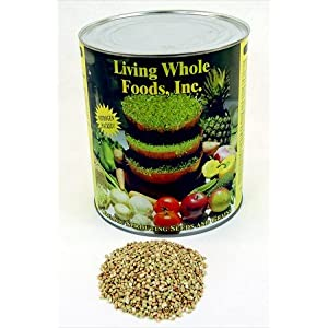 Hulled Buckwheat Groats- 5 Lbs - Organic Buck Wheat Groats- Sprouting Seed, Gardening, Planting, Edible Seeds, Emergency Food Storage, Hydroponics