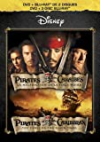 Pirates des Caraïbes : La Malédiction de perle noire (Bilingual DVD Combo Pack) [Blu-ray + DVD]