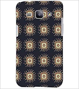 PrintDhaba Pattern D-5227 Back Case Cover for SAMSUNG GALAXY J1 (Multi-Coloured)