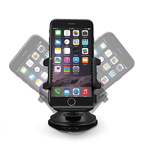 support t l phone voiture universel taotronics pour tableau de bord et pare brise compatible. Black Bedroom Furniture Sets. Home Design Ideas