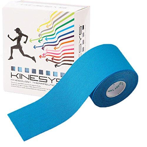 【全16色】トワテック カラーキネシオロジーテープ KINESYS(キネシス) 5cm×5m 6巻【リニューアル】(ライトブルー)