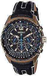 Seiko Prospex Chronograph Black Dial Mens Watch - SSC264P1