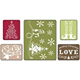 Sizzix 656985 Textured Impressions Embossing 5 Folders