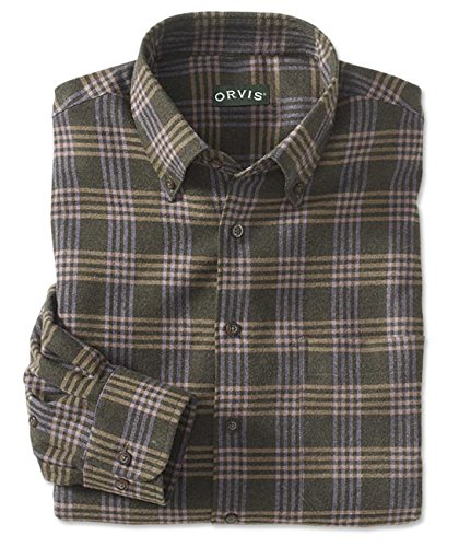 orvis-luxury-flannel-shirt-olive-xl