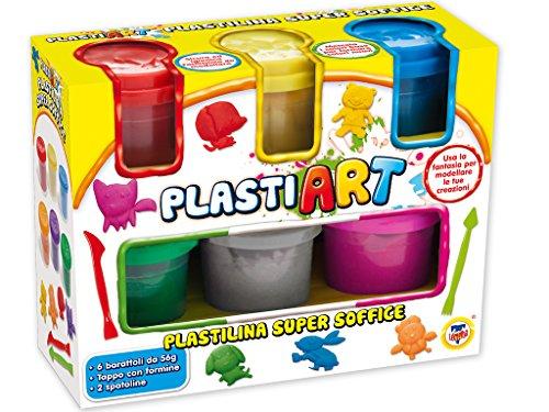 teorema-64320-plastiart-6-vasetti-di-plastilina-colorata-con-utensili-per-modellare
