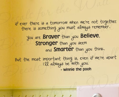 Winnie The Pooh Wall Quotes front-647415