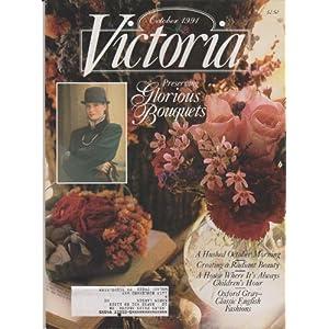 Victoria Magazine October 1991 - Glorious Bouquets